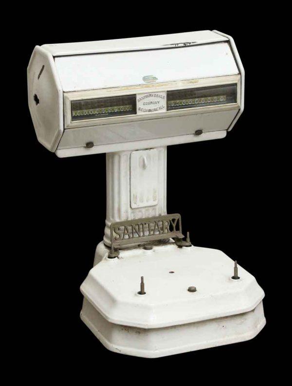 White Enamel Sanitary Scale - Scales