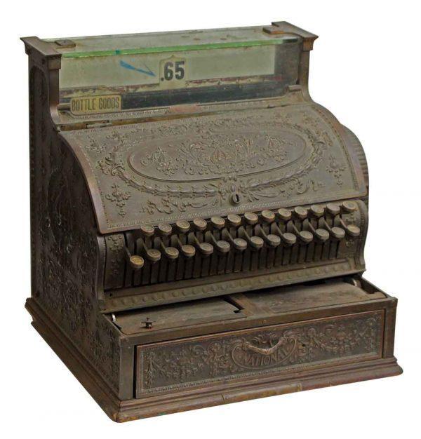 National Bronze Cash Ornate Register - Cash Registers