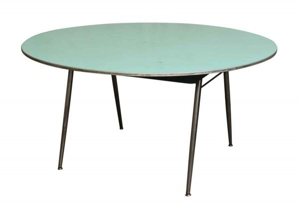 Eames Era Folding Table with Formica Top - Living Room