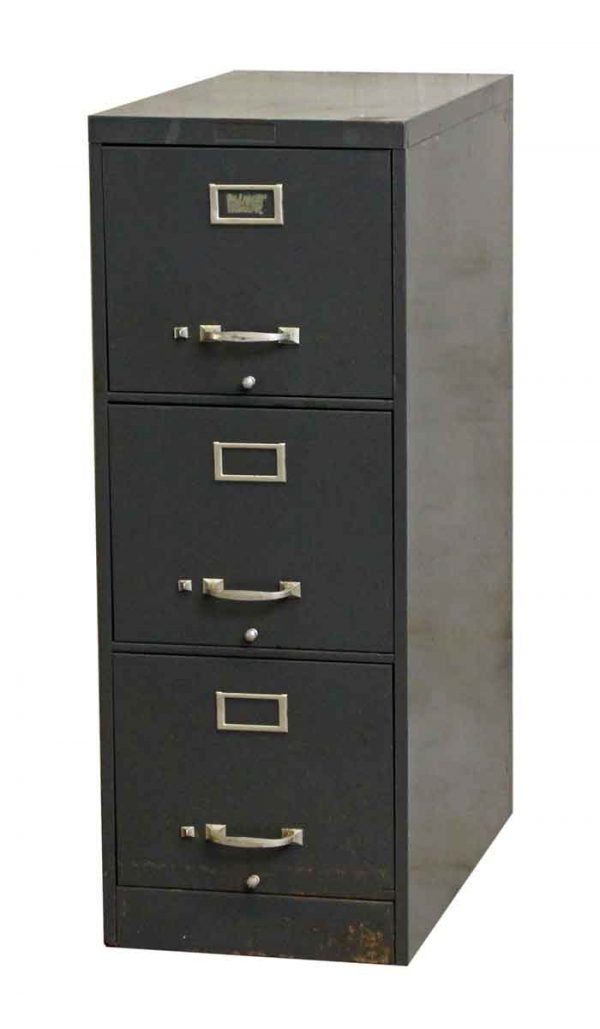 File Cabinet With Three Drawers - Office Furniture