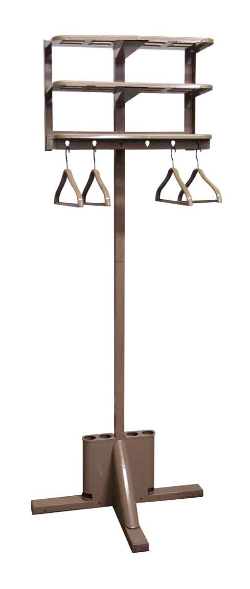 Metal Coat Rack with Four Hangers - Commercial Furniture