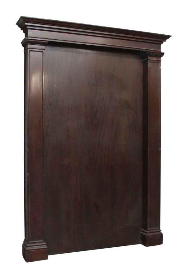 Wooden Egg & Dart Statement Panel - Flooring & Antique Wood