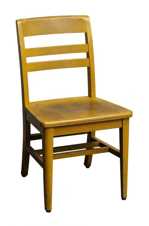 Light Wooden School Chair - Seating