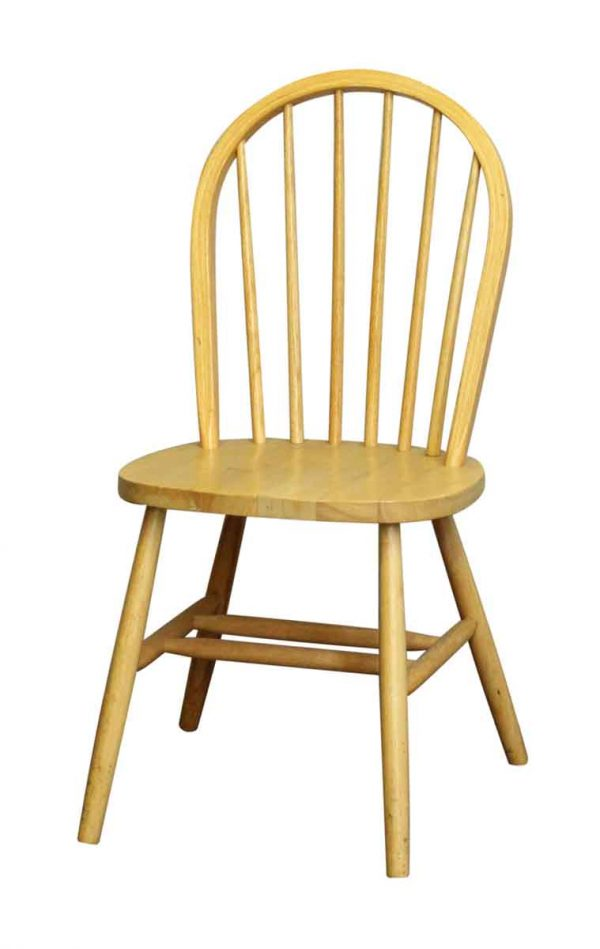Single Spindle Back Chair - Flea Market