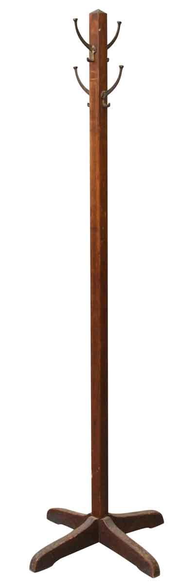 Tall Wooden Coat Rack - Coat Racks