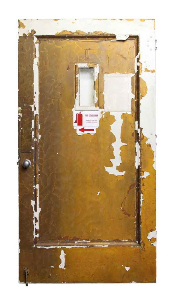 Fire Door with Small Glass Panel - Commercial Doors