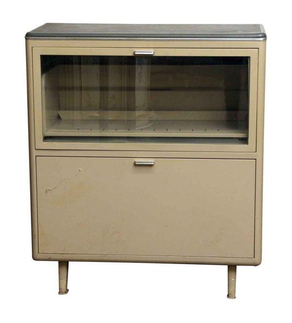 Two Drawer Metal Office Cabinet - Cabinets