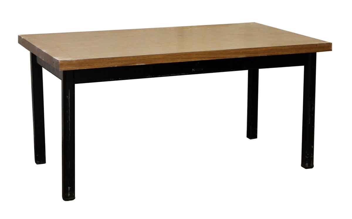 Simple modern work table olde good things for Simple modern furniture