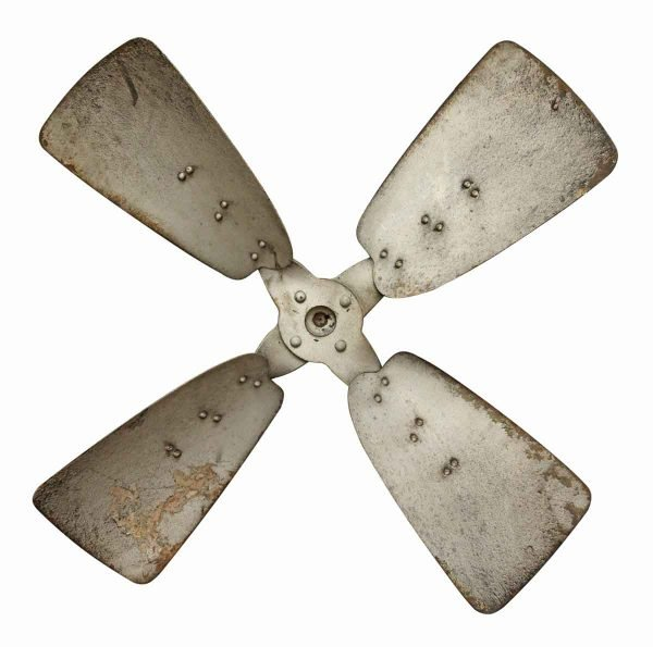 Vintage Metal Propeller - Bells