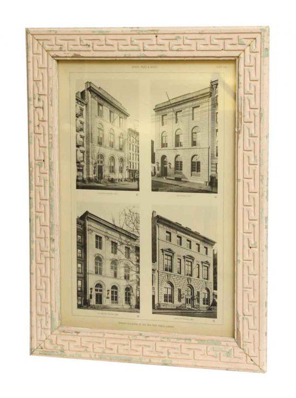 NY Public Library Branch Framed Photo - Photographs