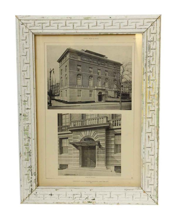 Columbia University President's House Framed Photo - Photographs
