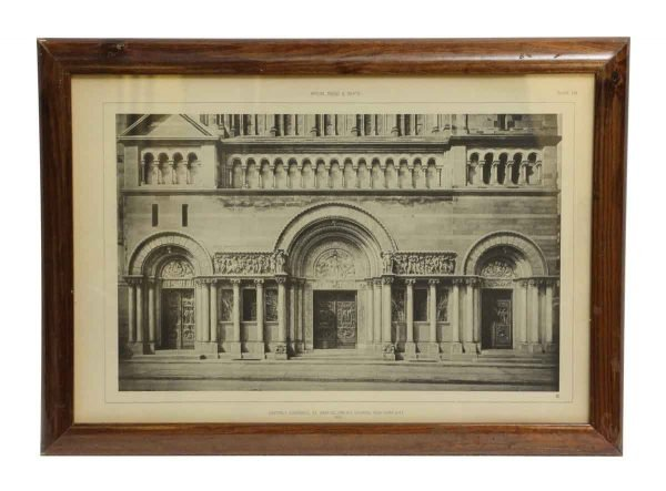 St. Bartholomew's Church Framed Photo - Photographs