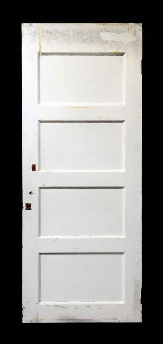 Four Panel White & Brown Door - Standard Doors