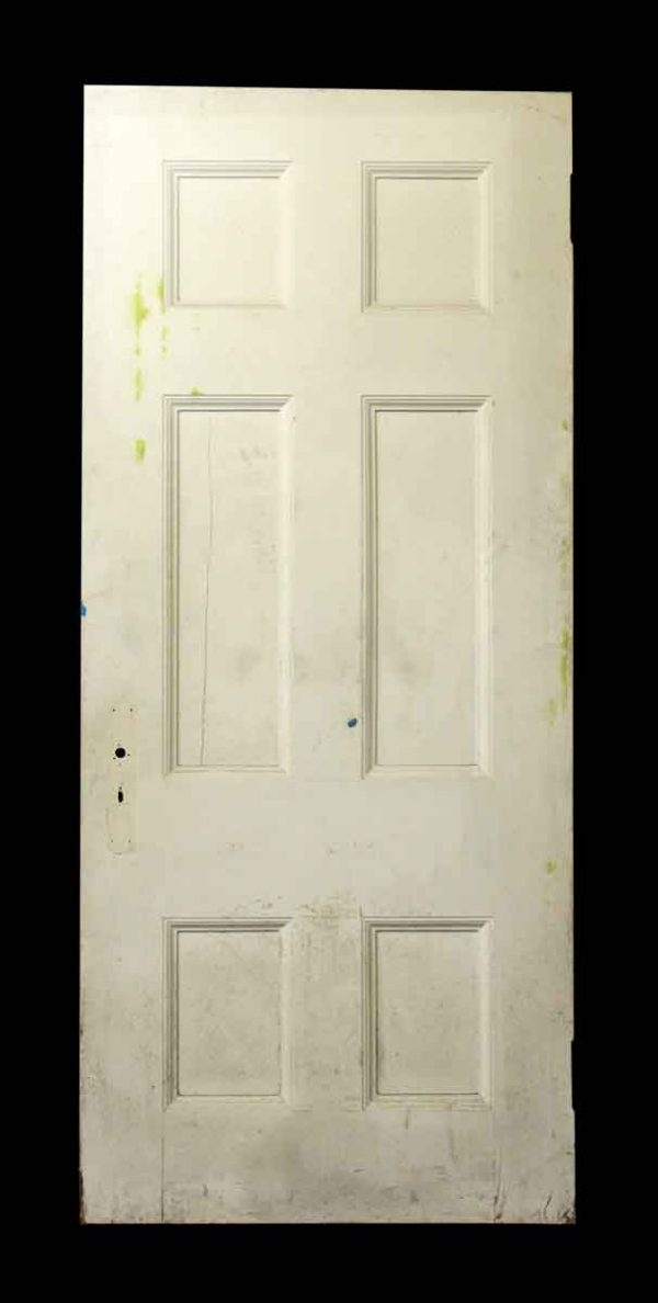 White Door with Six Panels - Standard Doors