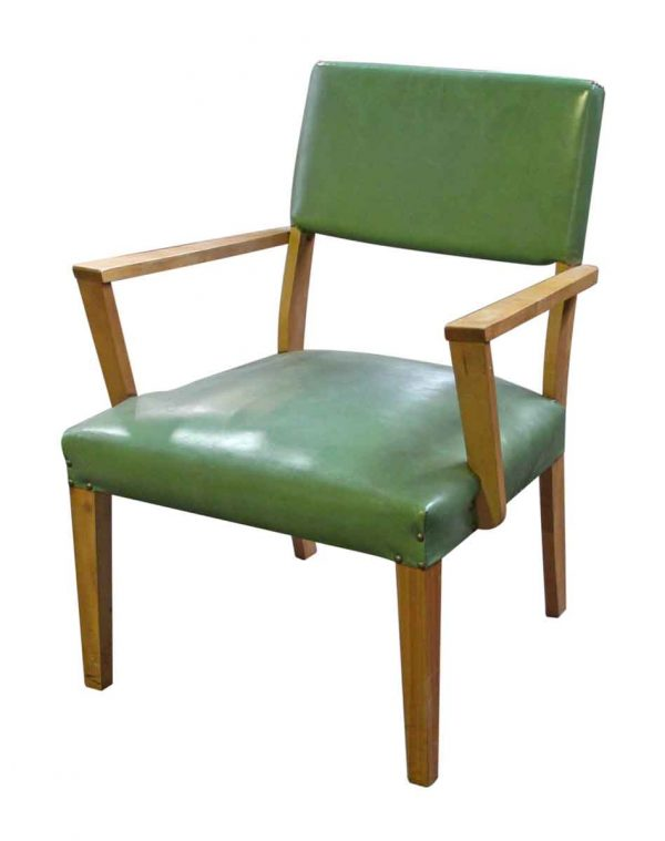 Green Mid Century Arm Chair - Seating