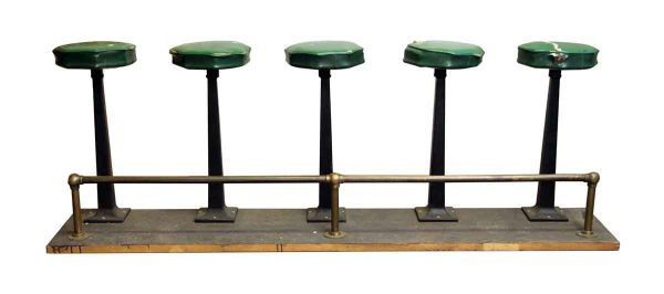 Five Seat Stool Unit - Commercial Furniture