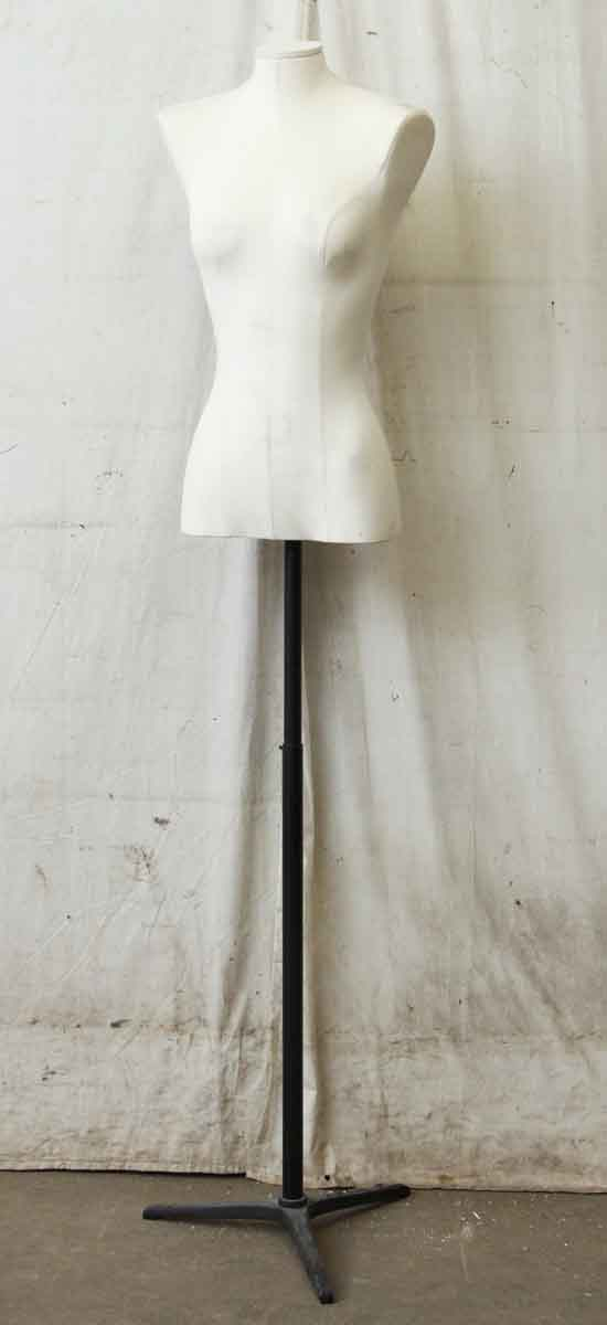 Tall White Women's Torso Mannequin - Commercial Furniture