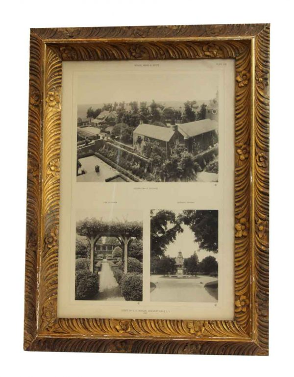 Morgan Estate Photo with Floral Frame - Photographs