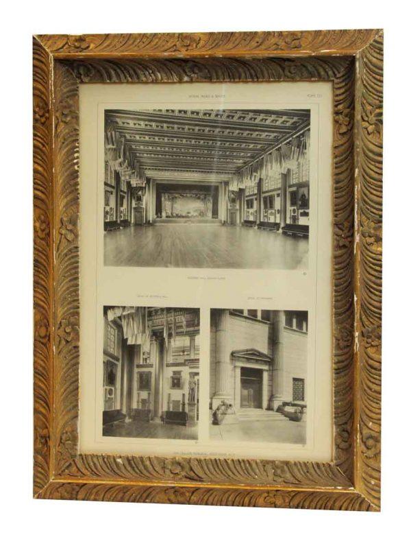 Cullum Memorial Photo in Floral Frame - Photographs