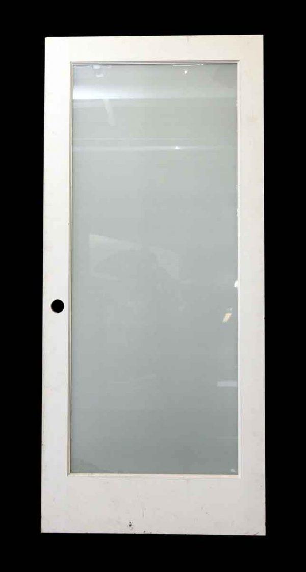 Glass Panel Door with Wood Frame - Standard Doors