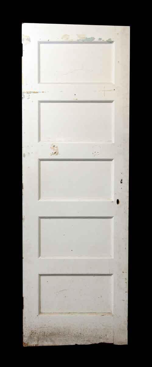 Five Panel White Wood Doors - Standard Doors