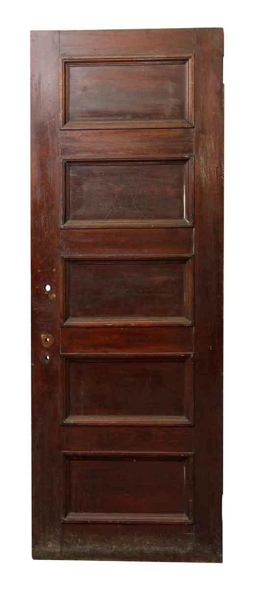Wooden Horizontal Five Panel Door - Standard Doors