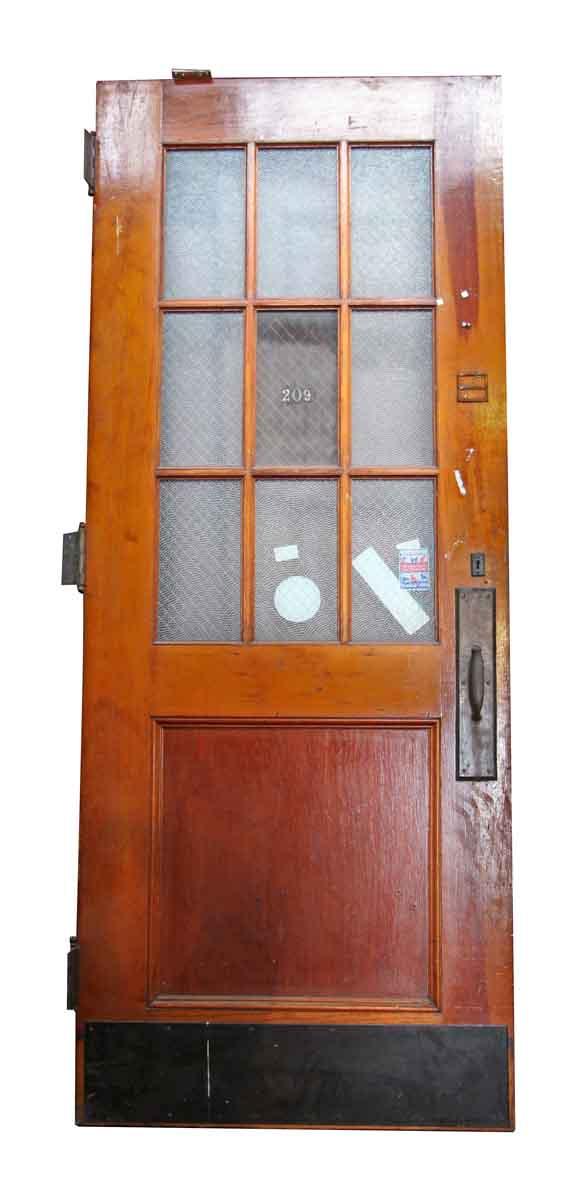 Delicieux Chicken Wire Glass Door   Commercial Doors