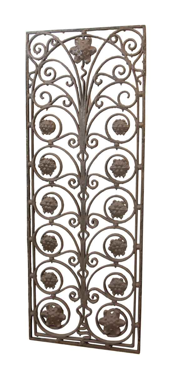 19th Century Wrought Iron Window Guard - Balconies & Window Guards