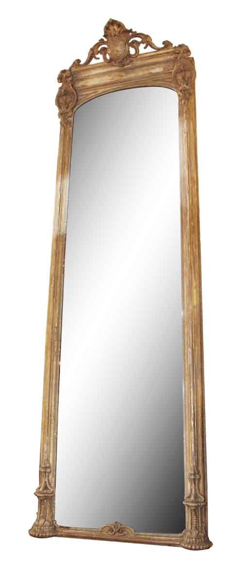 Gold Gilt Pier Mirror - Antique Mirrors