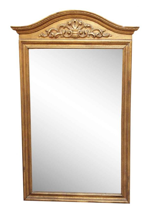 Gilded Decorative Wood Mirror - Antique Mirrors
