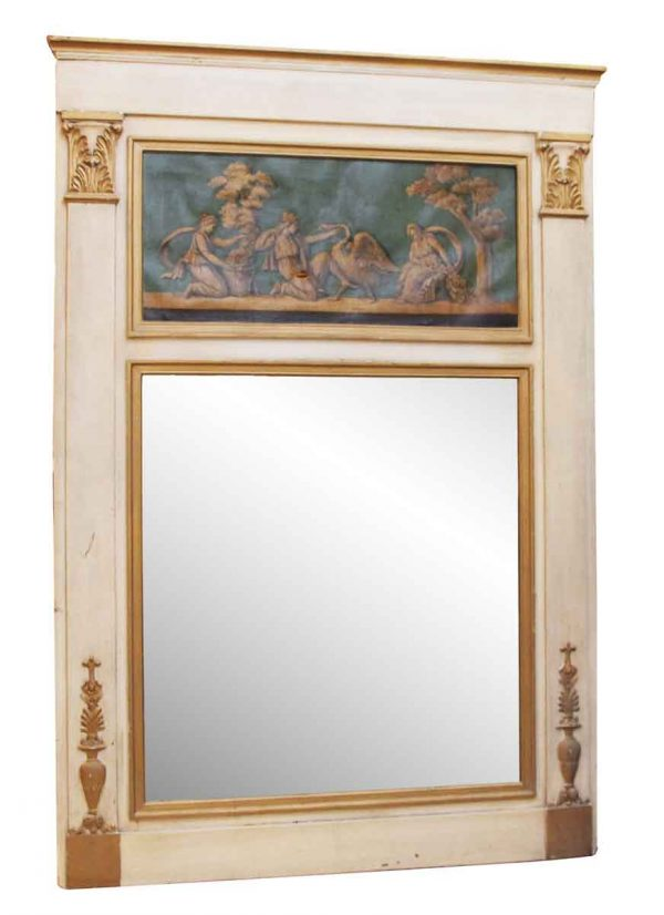 Over Mantel Mirror from a New York Hotel - Overmantels & Mirrors