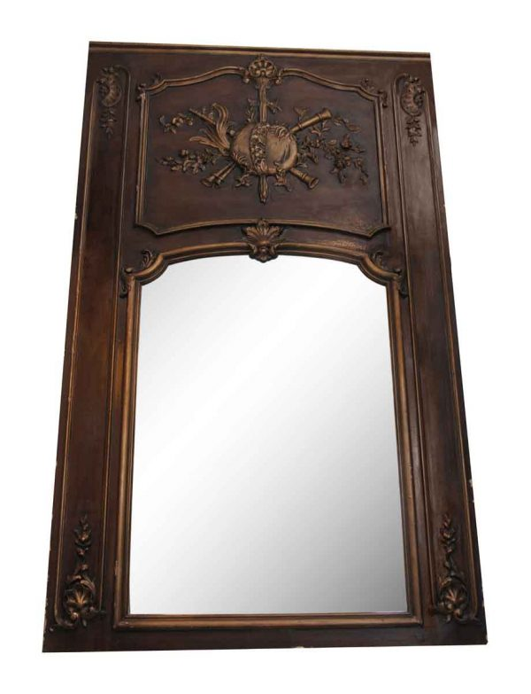 Wood Framed Mantel Mirror - Overmantels & Mirrors