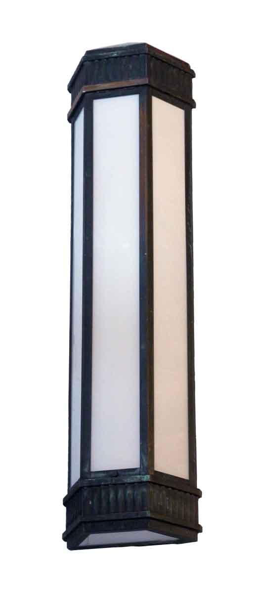 Bronze Art Deco Exterior Sconces - Sconces & Wall Lighting