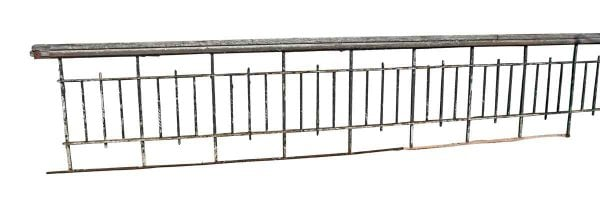 19th Century Wrought Iron Stair & Balcony Railing - Fencing