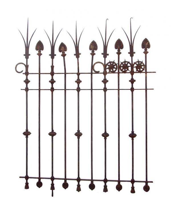 Rare 19th Century Cast & Wrought Iron Gate - Gates