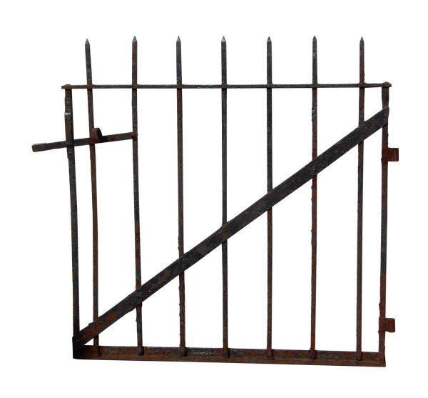 Two Matching Wrought Iron Garden Gates - Gates