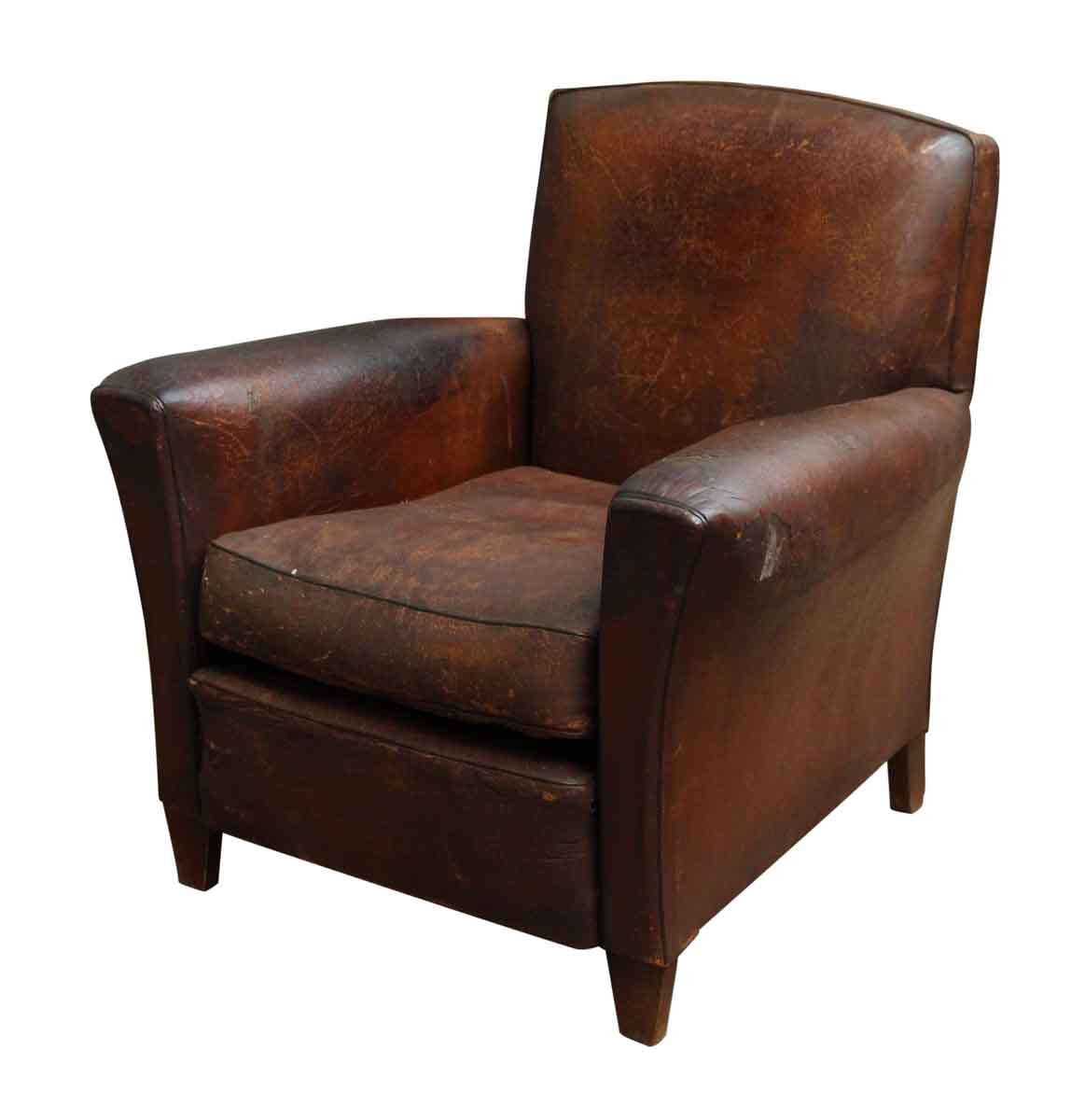 Magnificent Distressed Leather Club Chair Camellatalisay Diy Chair Ideas Camellatalisaycom