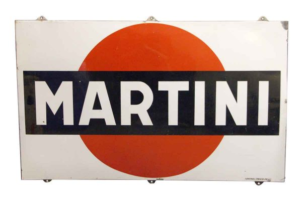 Martini Metal Sign - Vintage Signs
