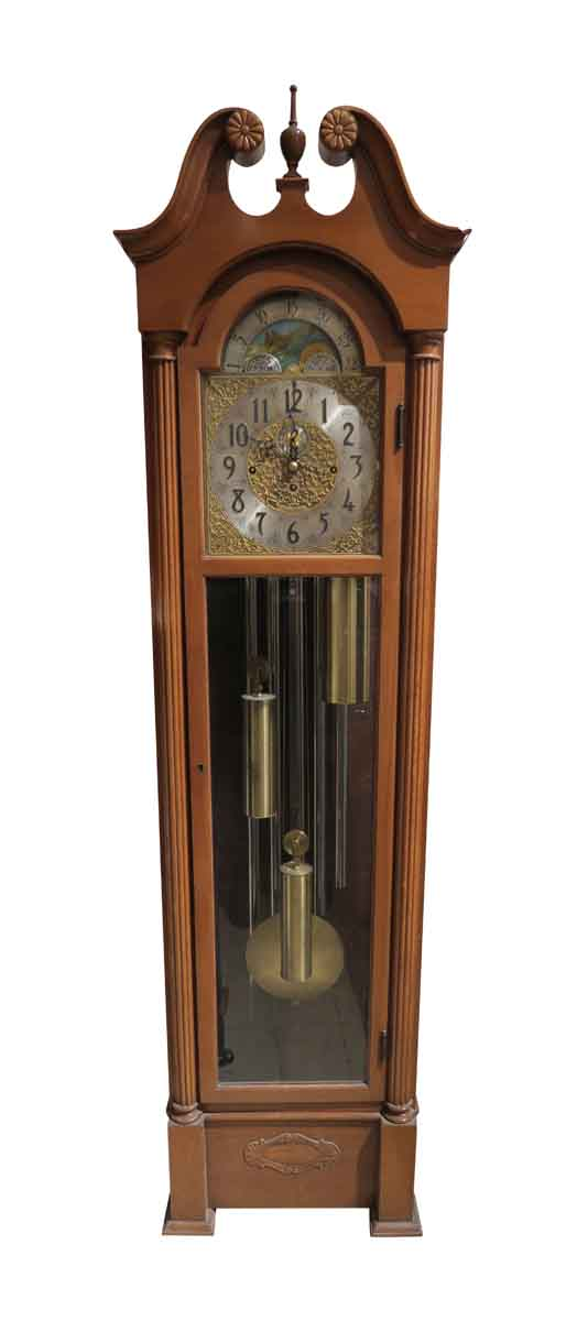 1950s Herschede Grandfather Clock - Clocks