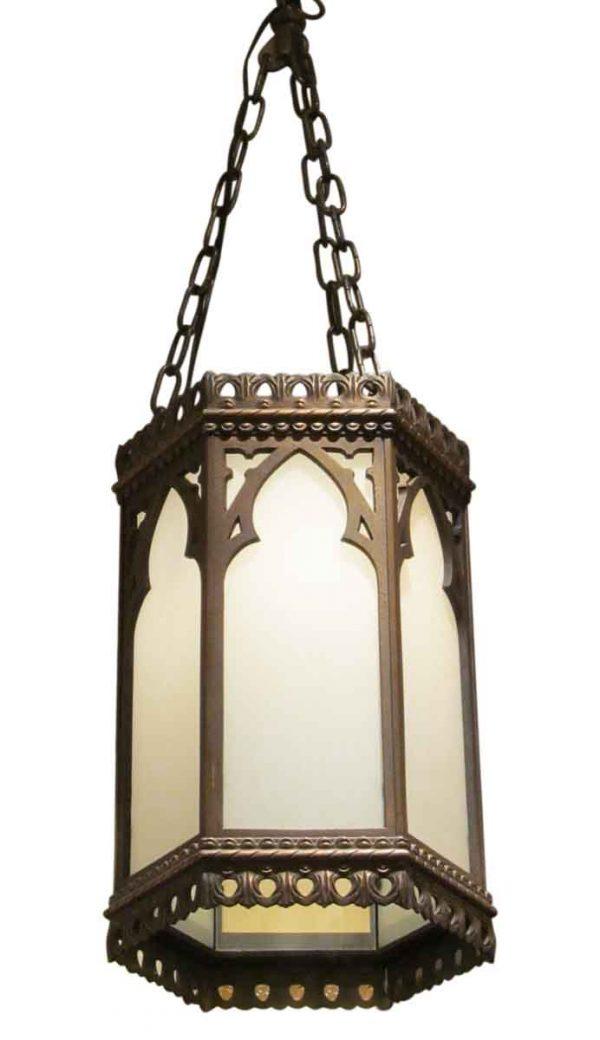 Large Gothic Pendant Lantern - Wall & Ceiling Lanterns