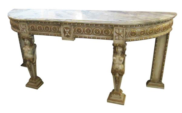 Marble Top Console - Entry Way