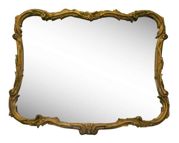 Gold gilded Italian mirror -