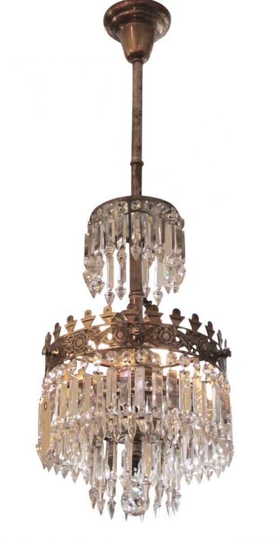 Crystal pendant chandelier - Chandeliers