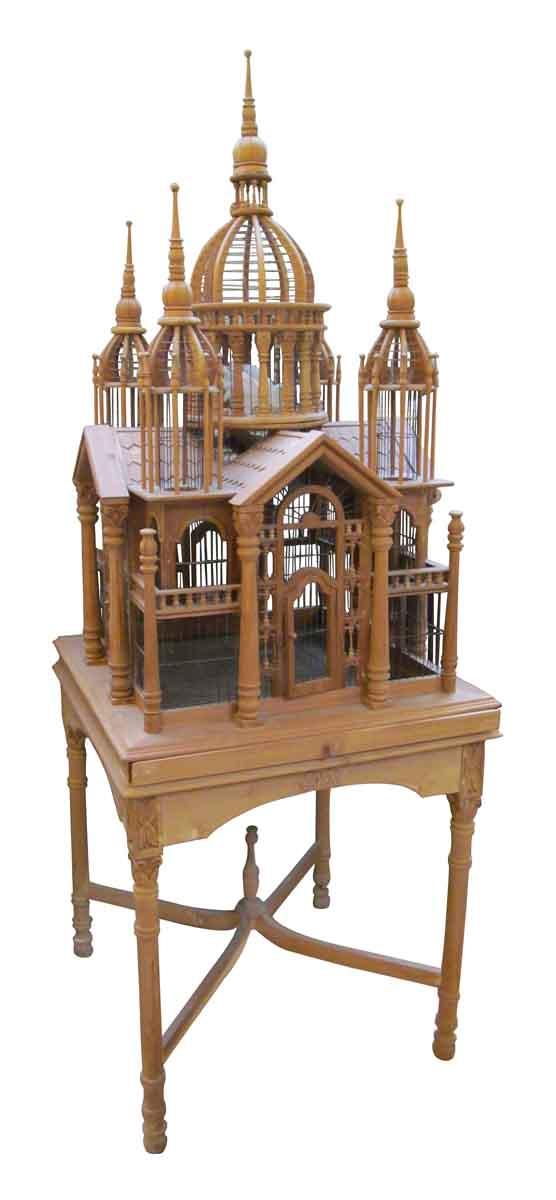 Handmade wooden bird mansion - Animal Care