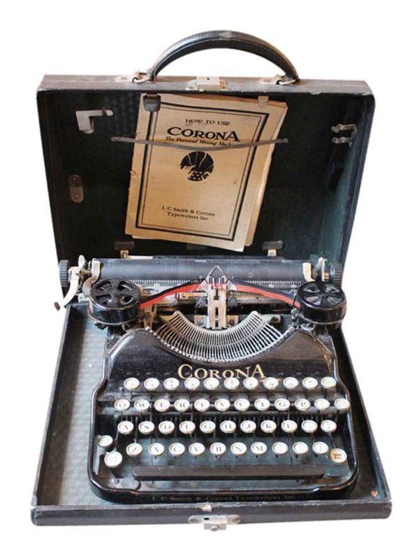 Original Corona typewriter -
