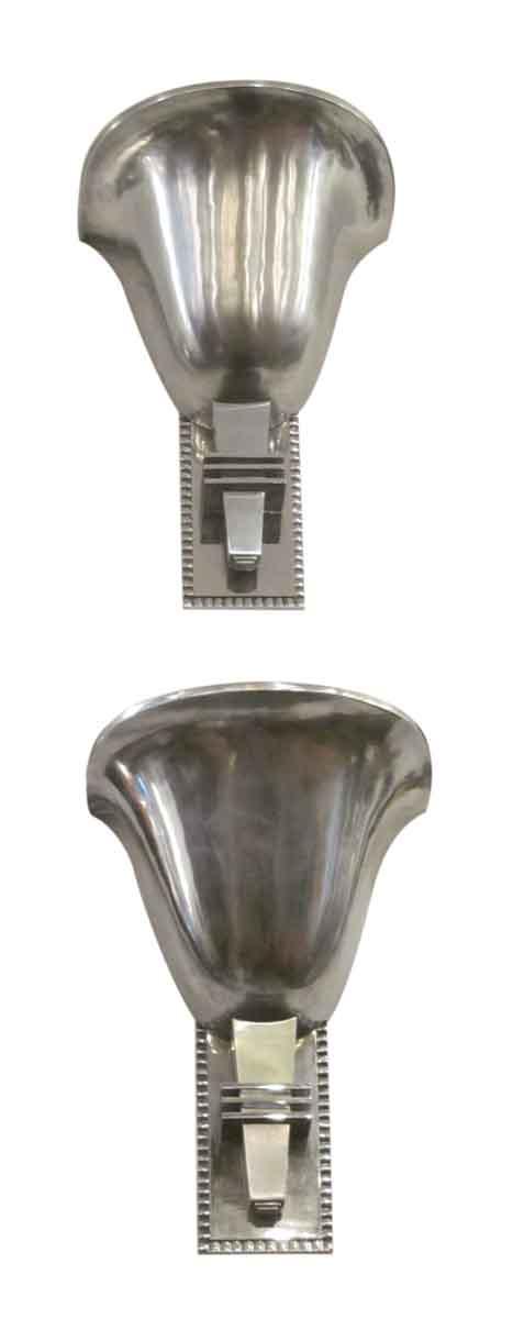 French Art Deco nickel over bronze -