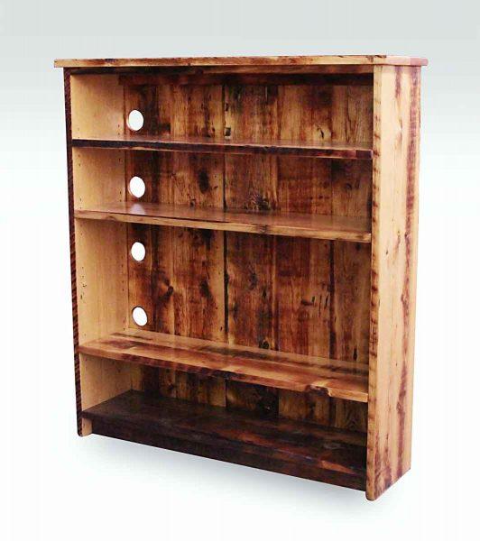Reclaimed Handmade Pine Bookcase - Shelves & Bookcases