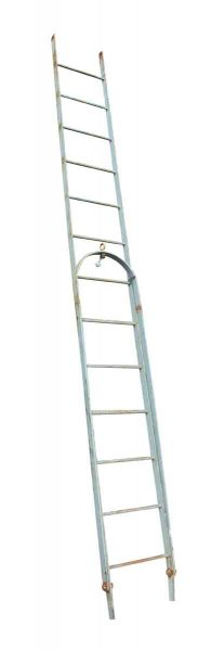 Vintage Extendable Galvanized Steel Fire Escape Stairs - Ladders