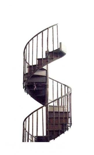 English Antique Spiral Staircase