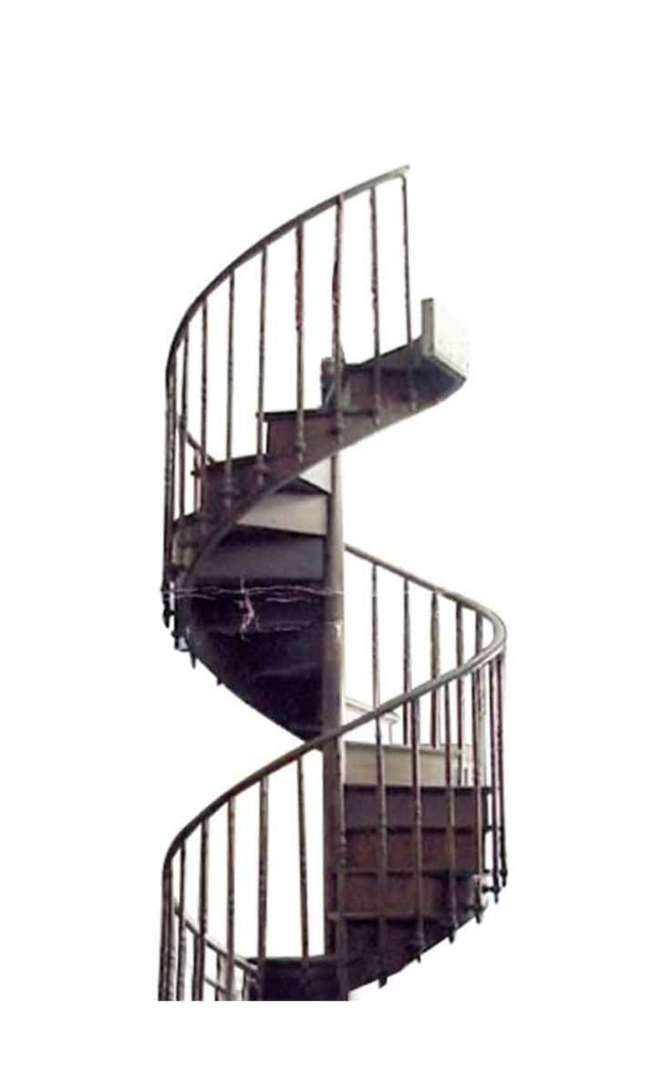 English Antique Spiral Staircase - Staircase Elements
